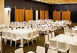 5 אולמות אירועים במגוון גדלים לימי עיון, לאירועי השקה ולחדרי ישיבות