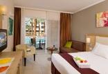 מגוון חדרים גדולים ומרווחים המתאימים לחופשה זוגית ומשפחתית